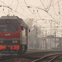 подъезжая к станции :: Pavel Fedorov