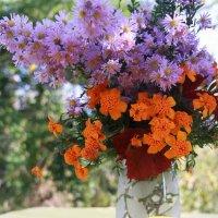 Осенние цветы :: Lyudmila Petryashina