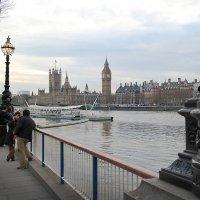 Вечер на Темзе :: Тарас Золотько
