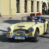 Ретро автомобиль Austin Healey 3000 MKIII Roadser :: Евгений Кривошеев