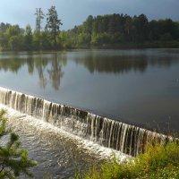 дамба на реке Исе :: Ирина Мамчур (Малыгина)