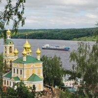 Город на Волге реке. :: Ирина Нафаня
