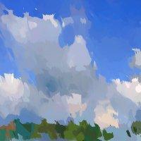 Облака над Волгой :: Михаил Лобов (drakonmick)