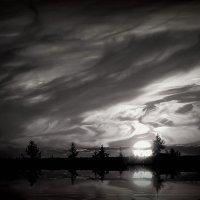 Волшебный миг заката :: Евгений Жиляев