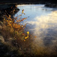 Осенняя переправа... :: Андрей Войцехов