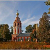 Церковь Покрова Пресвятой Богородицы в Алексино, 1803 :: Дмитрий Анцыферов