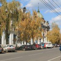 Осень в городе. :: Олег Афанасьевич Сергеев