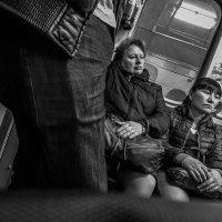 в московском метро :: Сергей Клембо