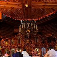 Протоиерей Сергий... Храм Рождества Пресвятой Богородицы . П. Петра- Дубрава :: Екатерина Тимашева