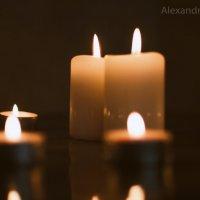 свечи :: Александра Зайцева