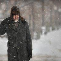 Снег в октябре :: Александр Поляков
