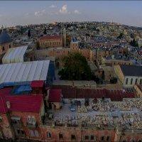 Иерусалим с высоты птичьего полёта :: Shmual Hava Retro