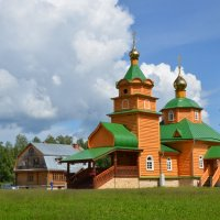 Церковь Царственных новомучеников в Никандровой пустыни :: Ирина Никифорова