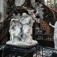 Резная кафедра из дуба и мрамора работы Лорена Дельво, 1745 г :: Елена Павлова (Смолова)