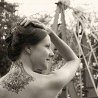 девушка с татуировкой :: Ksenia Sun