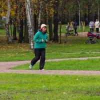 Осенний марафон :: Денис Бажан