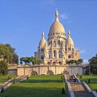 Базилика Сакре Кёр, Монмартр, Париж :: Виталий Авакян