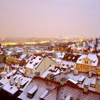снег на крышах :: Dorosia safronova