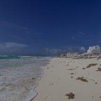 После шторма...Карибы.Канкун.Мексика. :: Александр Вивчарик