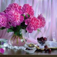 ...когда пион цветет в июне... :: Валентина Колова