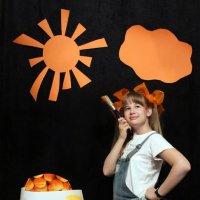 оранжевое небо... :: Александра