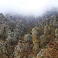 Долина привидений.Демерджи :: Геннадий Валеев