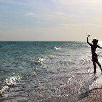 предзакатное море восхитительно... :: Анна Перова