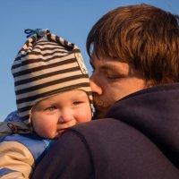 Папа и сынок :: Ната Анохина