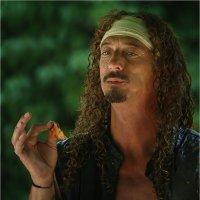 Про божественный вкус барбекю курочки:-) :: Танкист .