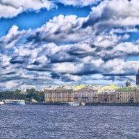 Английская набережная в облачный день P :: Valerii Ivanov