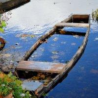 затонувшая лодка... :: алёнка турлай