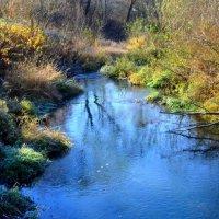 первый морозец. река дрожит от холода :: Svetlana AS