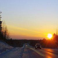 дорога на север... :: Олег Петрушов