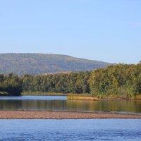 река Лена с её притоками :: Таня Фиалка
