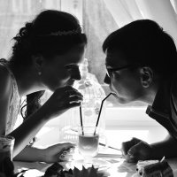 Катя и Расим :: Нина Трушкова