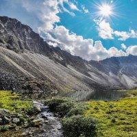 Озеро Золотое, Восточный Саян. :: Дмитрий ВЛАСОВ