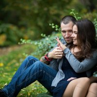 Вика и Руся :: Владимир Щукин