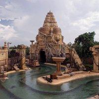 Новый проект ПортАвентура вдохновлен  камбоджийский храмом Ангкор-Ват и  азиатскими джунглями... :: Надежда