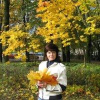 Осенний   букет  из  янтарных   листьев :: Valentina Lujbimova [lotos 5]