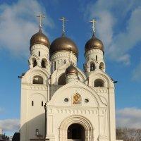 Церковь Серафима Саровского в Раеве. :: Александр Качалин