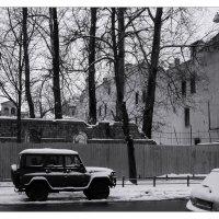 """""""можно не достраивать - наконец снег...""""(В.К.) :: sv.kaschuk"""