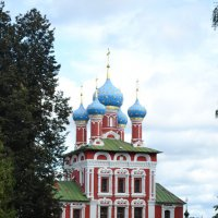 Углич. Церковь царевича Димитрия. :: Даша Владимирова