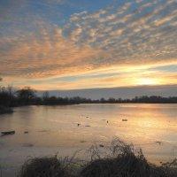 Ледяное озеро . :: Hаталья Беклова