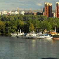 Ранняя осень на Енисее. :: nadyasilyuk Вознюк