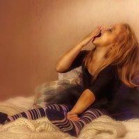 Доброе утро, маленькая чертовка! :: Марина Казнина