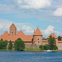 Тракайский замок :: Gennadiy Karasev
