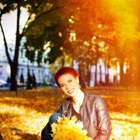 На ковре из желтых листьев :: Tetyana Yurchenko