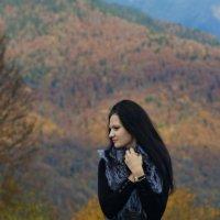 Саша и осень :: Виолетта