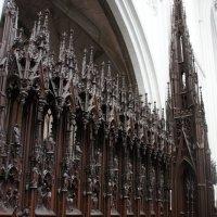 Собор Антверпенской Богоматери. Ложа хоров. арх. Франсуа Дюрле :: Елена Павлова (Смолова)