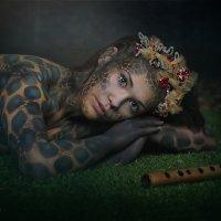 Девушка -Змея :: Наташа Родионова